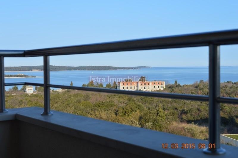 Premantura apartman 62 m2 sa pogledom na more