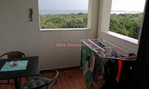Barbariga - apartman prvi red do mora, pogled na more