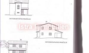Vodnjan, građevinsko zemljište sa  dozvolom