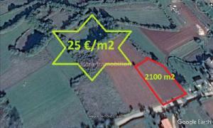 Barban - građevinsko zemljište 2100 m2 - POVOLJNO