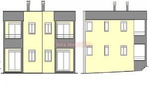 kuća Štinjan Fažana - zgrada sa 4 apartmana
