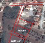 Istra  Pula Građevinsko zemljište 735 m2 svom  sa infrastrukturom!